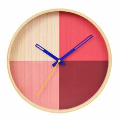 Reloj Flor Rojo