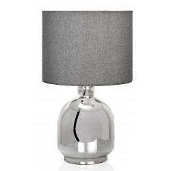 Lámpara Vidrio Gris