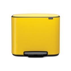 Bo Cubo Basura Pedal Amarillo
