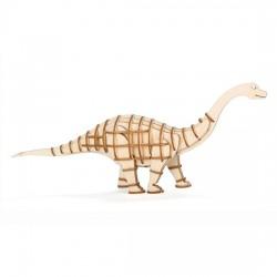 Puzzle 3D Apatosaurio
