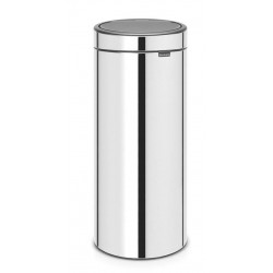 Cubo Touch Bin New 30L Matt Steel