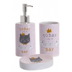 Set Baño Cat Lover