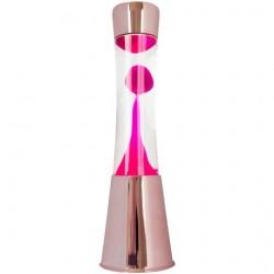 Lámpara de lava Oro Rosa