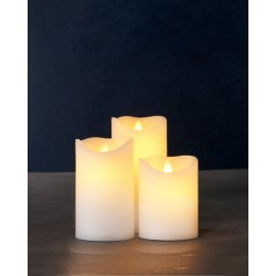 Sara Set 3 Velas Led
