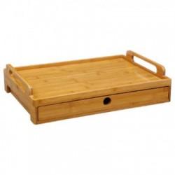 Bandeja Bambú con cajón