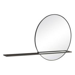 Espejo Estante Negro