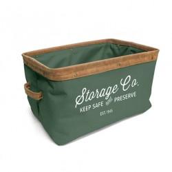 Cesta Vintage Verde