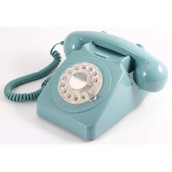 Teléfono Retro 746 Rotary Azul