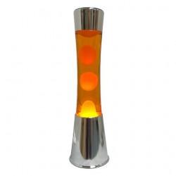 Lámpara de Lava Naranja