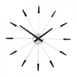 Reloj Plug Inn Negro