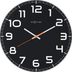 Reloj Classy Round Negro