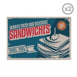 Individual Sandwiches Set de 2